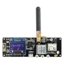 LILYGO®TTGO t beam V1.1 ESP32 433/868/915Mhz WiFi moduł Bluetooth ESP32 GPS NEO 6M SMA LORA 18650 uchwyt baterii z OLED