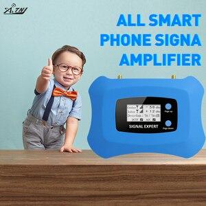 Image 2 - Hot! 4G LTE 800MHz mobilny wzmacniacz sygnału 4g telefon komórkowy wzmacniacz 4G komórkowy regenerator sygnału z antena Yagi + antena sufitowa zestaw