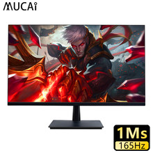 Mucai 27 Polegada pc monitor 165hz ips display lcd hd tela do computador de jogos desktop painel plano hdmi/dp