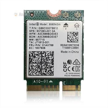 Беспроводной-AC 9560NGW NGFF двухдиапазонный 802.11ac 1,73 Гбит/с WiFi + BT5.0 SPS:937263-001 Lenovo FRU:01AX768