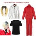 Куртка Haikyuu Nekoma, штаны, толстовки, футболка, униформа Kuroo Tetsurou Kenma Kozume, косплей, костюм для волейбола, аниме, спортивная одежда