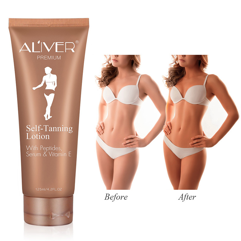 Self Tanning Cream Body Black Bronze Tanning Lotion Foundation Moisturizing Oil Control Face Skin Care Cream Fast Tanning Lotion