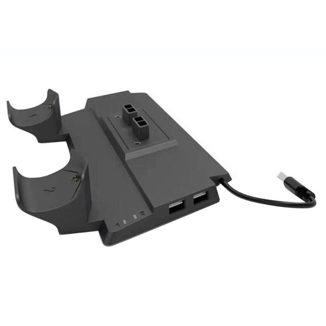 Vertical Cooling Stand Charging Station Dock w/HUB for PS4/PS4 Slim/PS4 Pro