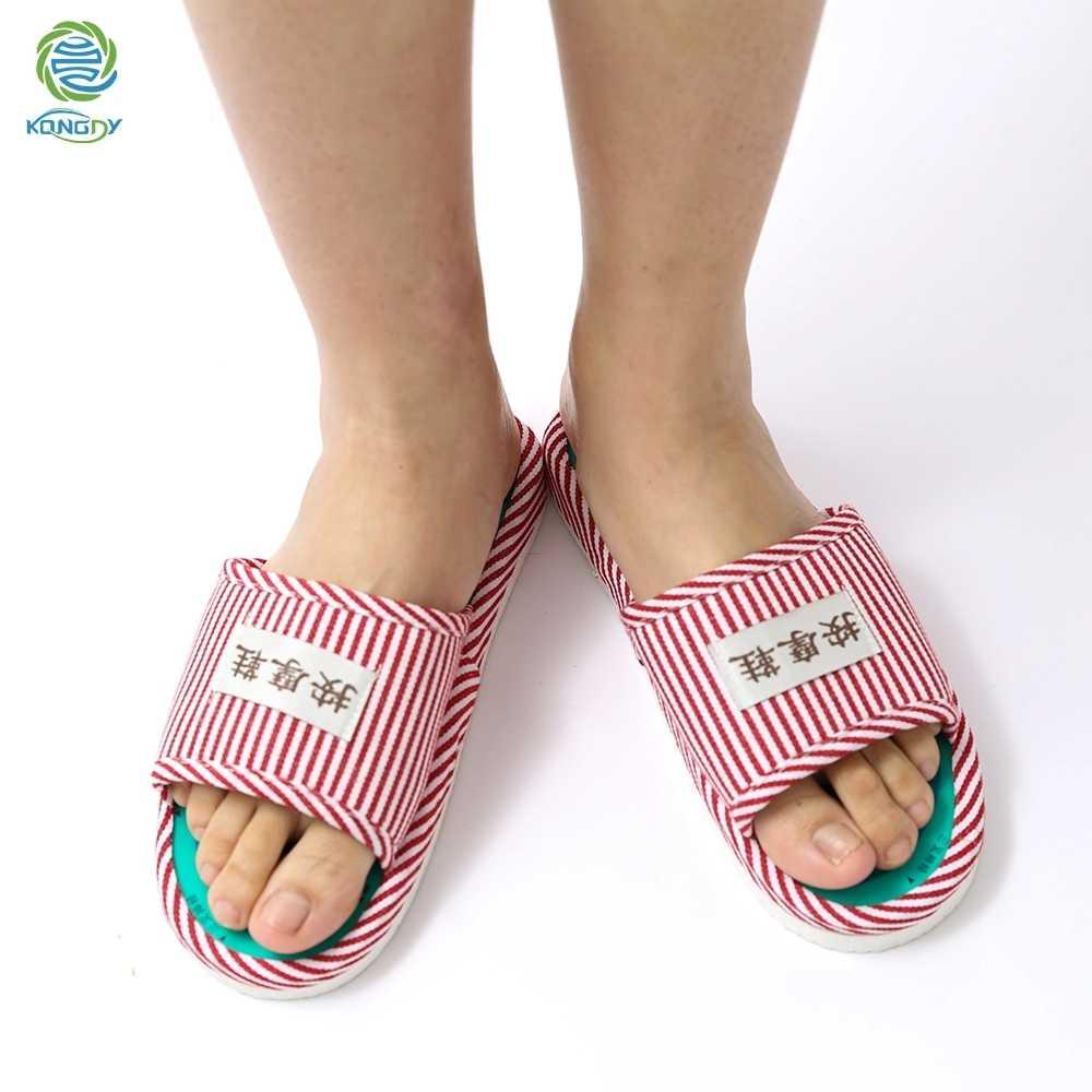 KONGDY Akupressur Punkte Massage Schuhe 1 Paar Magnetische Reflexzonenmassage Hausschuhe Schmerzen Relief Fuß Entspannung Gesunde Pflege Schuhe