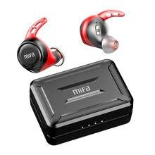 Mifa – écouteurs sans fil bluetooth 5.0, oreillettes X11 TWS Ture apt-x, étanches IPX7, CVC 8.0, réduction de bruit, temps de jeu de 100H