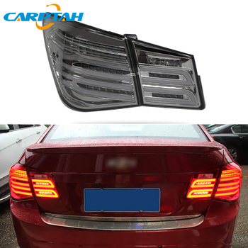 Car Styling Taillight Tail Lights For Chevrolet Cruze 2009 - 2012 Rear Lamp DRL + Turn Signal + Reverse + Brake LED Lights