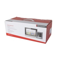 Hik Original multi language DS KIS602 802.3af POE Video intercom KIT,IP Doorbell,Outdoor camera and WiFi Indoor monitor