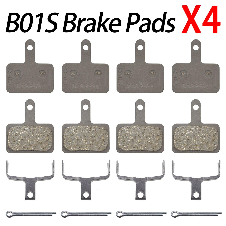 EP 2pairs Disc Brake Pads For Shimano b01s mt200 M315//M365//M375//M446//M447