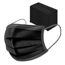 2021 mа30 30 30 30 pçs à prova de máscara protetora proteger mascarillas quirúrgicas nonwove 3 camada máscara de camada face boca capa máscaras pretas ao ar livre