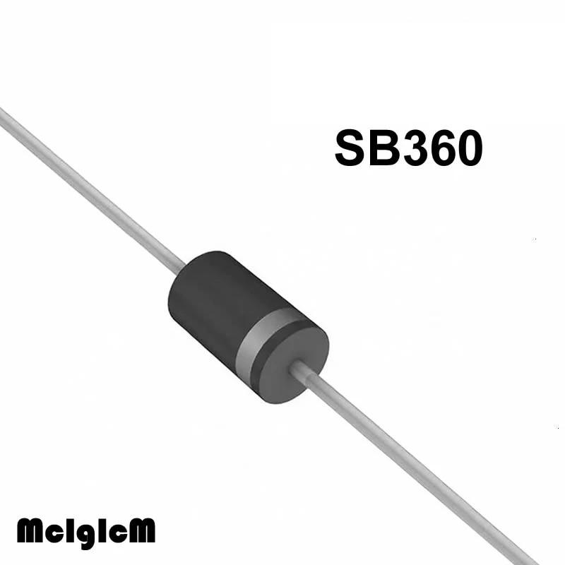 Redresseur Diode Schottky THT 60 V 3 A do201ad sb360-e3//54 schottkydiode Diode