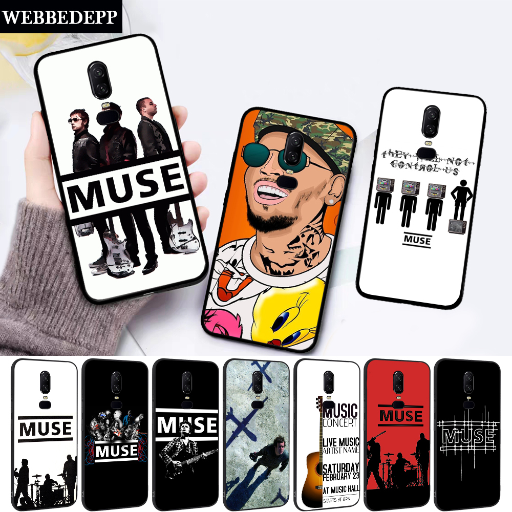 Muse Band Lyrics Music Songs Silicone soft Case for Oneplus 5 5T 6 6T 7 7T Pro image