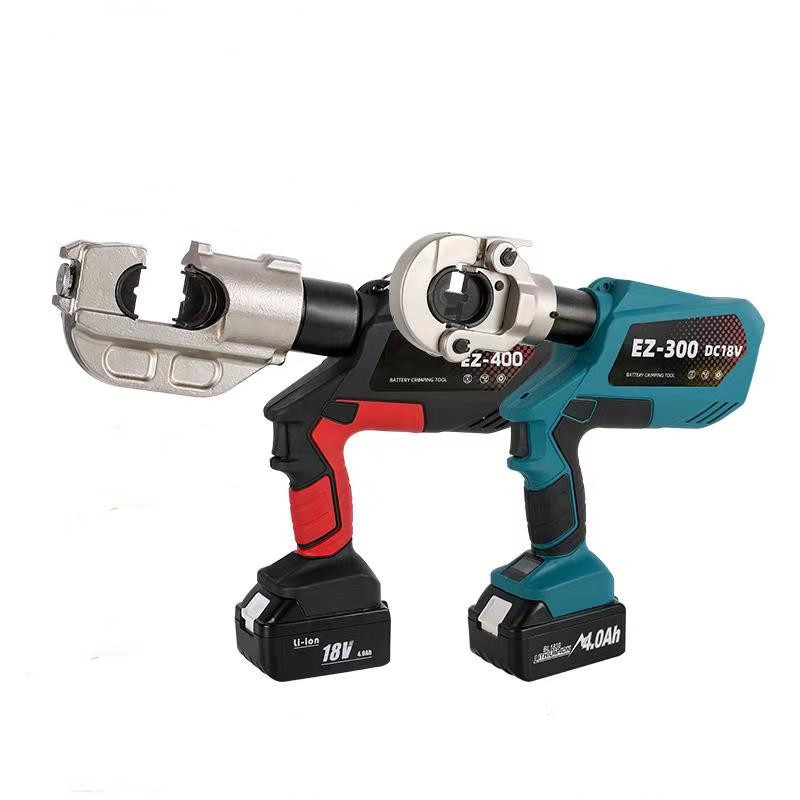 Electric hydraulic pliers, rechargeable crimping pliers, hydraulic crimping tools