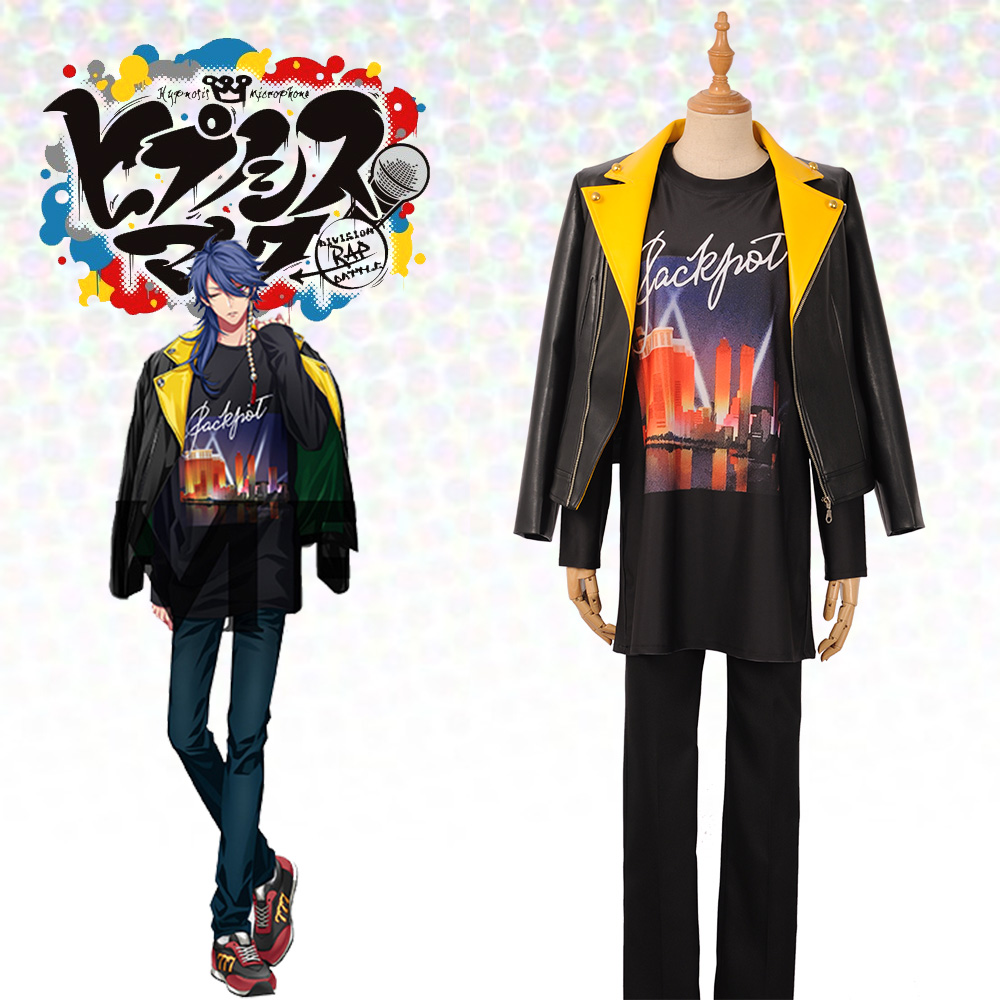 DRB Hypnosis Mic Division Rap Battle Amemura Ramuda Cosplay Costume Outfit Suit