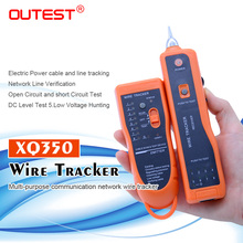 Kostenloser versand draht tracker RJ45 RJ11 finder netzwerk lan kabel telefon elektrische draht tracker tracer toner xq 350