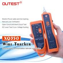 จัดส่งฟรีสายไฟ RJ45 RJ11 finder เครือข่าย lan สายโทรศัพท์สายไฟ tracker tracer toner xq 350