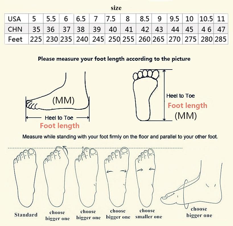 Sneakers- Size Chart LIa Mart