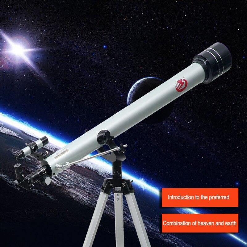 Астрономический телескоп высокого качества, Калибр 60 мм, профессиональный HD 10000, со штативом для начинающих и детей