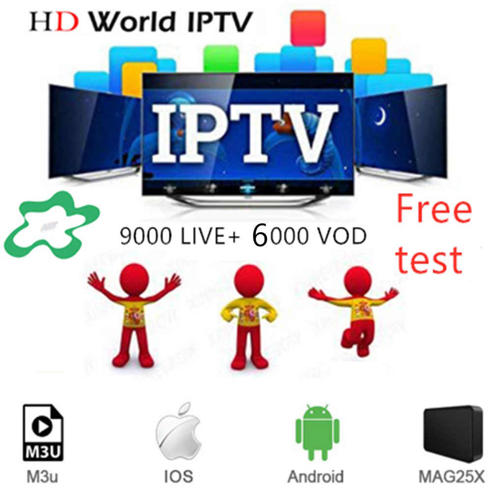 IPTV M3U 9000+Live  Subscription Italy UK  Portugal French Spanish for Android IPTV  M3U enigma2 TV box