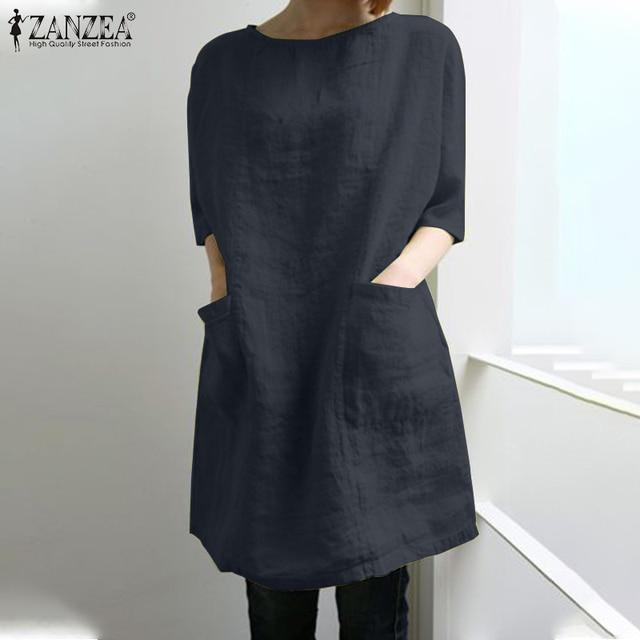 Vintage Short Sleeve Solid Shirt  4