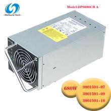100% teste para a fonte de alimentação para v440 300-1501 1851 DPS-680CB a 680w 3001501-07/09/10 bom trabalho