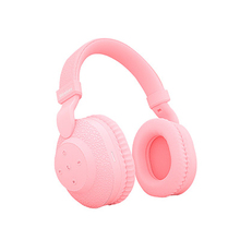Cute female HIFI stereo wireless bluetooth headset  handsfree headphones with microphone sport noise cancelling Gaming earphone