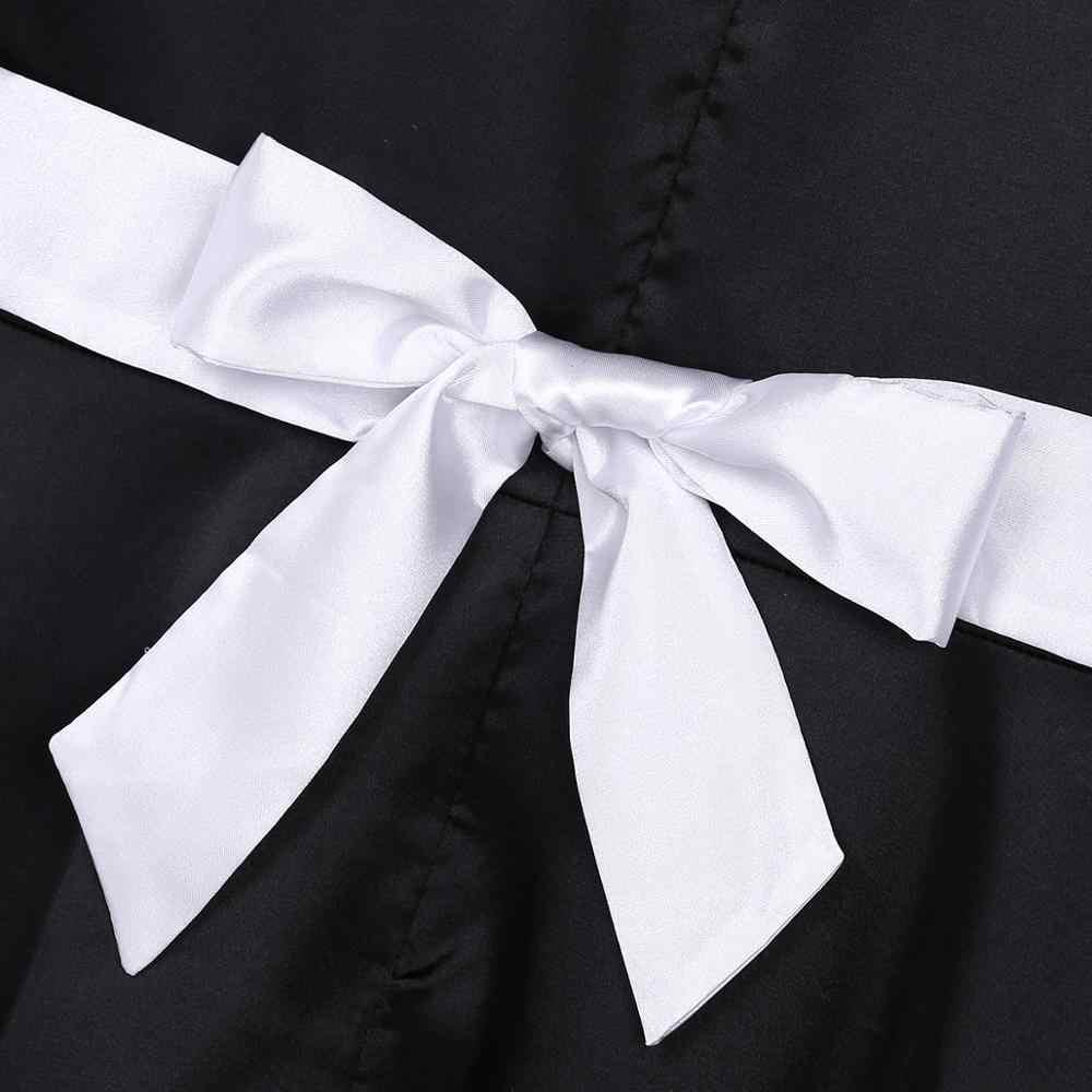 Iiniim Nóng Nam Ẻo Lả Bộ Đồ Lót Ren Bé Gái Hầu Gái Đầm Sexy Trang Phục Cosplay Clubwear Búp Bê Cổ Satin Kèm Áo Dây Đội Đầu Và tạp Dề