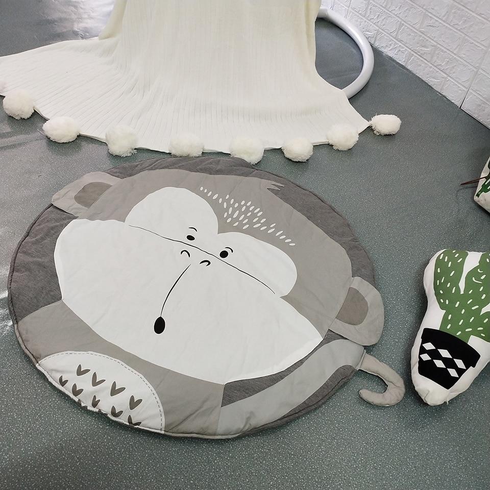 New pattern Baby Play Mats Kids Crawling Carpet Floor Rug Baby Bedding Rabbit Blanket Cotton Game