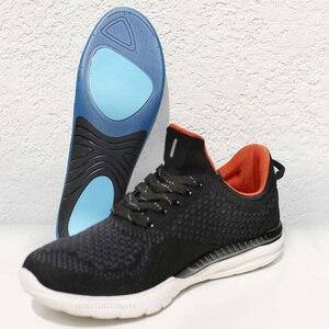 Image 5 - Palmilhas elásticas altas confortáveis da palmilha dos esportes da absorção de choque de freetie eva para sapatas de couro dos esportes que executam sapatas ocasionais