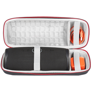 Image 1 - 2019 NEW Hard Travel Case for JBL Charge 4 Wave point Waterproof Bluetooth Speaker only case
