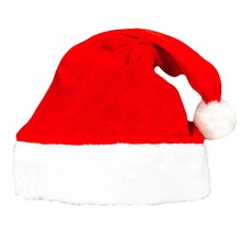 Christmas Hat Santa Claus Hats Children Women Men Boys Girls Cap For Xmas Party Props Ornaments Decoration Retail/wholesale(China)