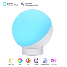 Timer-Switch Voice-Control Smart-Table-Lamp Wifi Alexa Google Smart Home RGBW for Night-Light