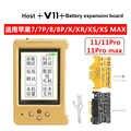 V11 pour iPhone 7-11 Pro Max LCD écran Photosentive/couleur originale/Vibration réparation programmeur batterie écouteur données réparation