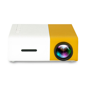 Projector Mini Projector Portable Theater Home Office HD 1080P Yellow DQ-Drop
