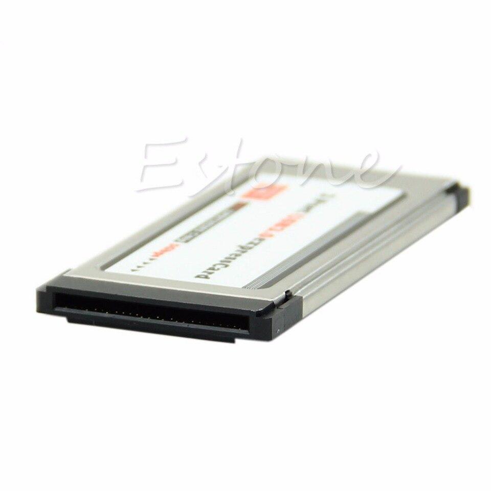 2 Ports USB 3.0 express card expresscard 34mm//54mm hidden adapter for laptop EG1