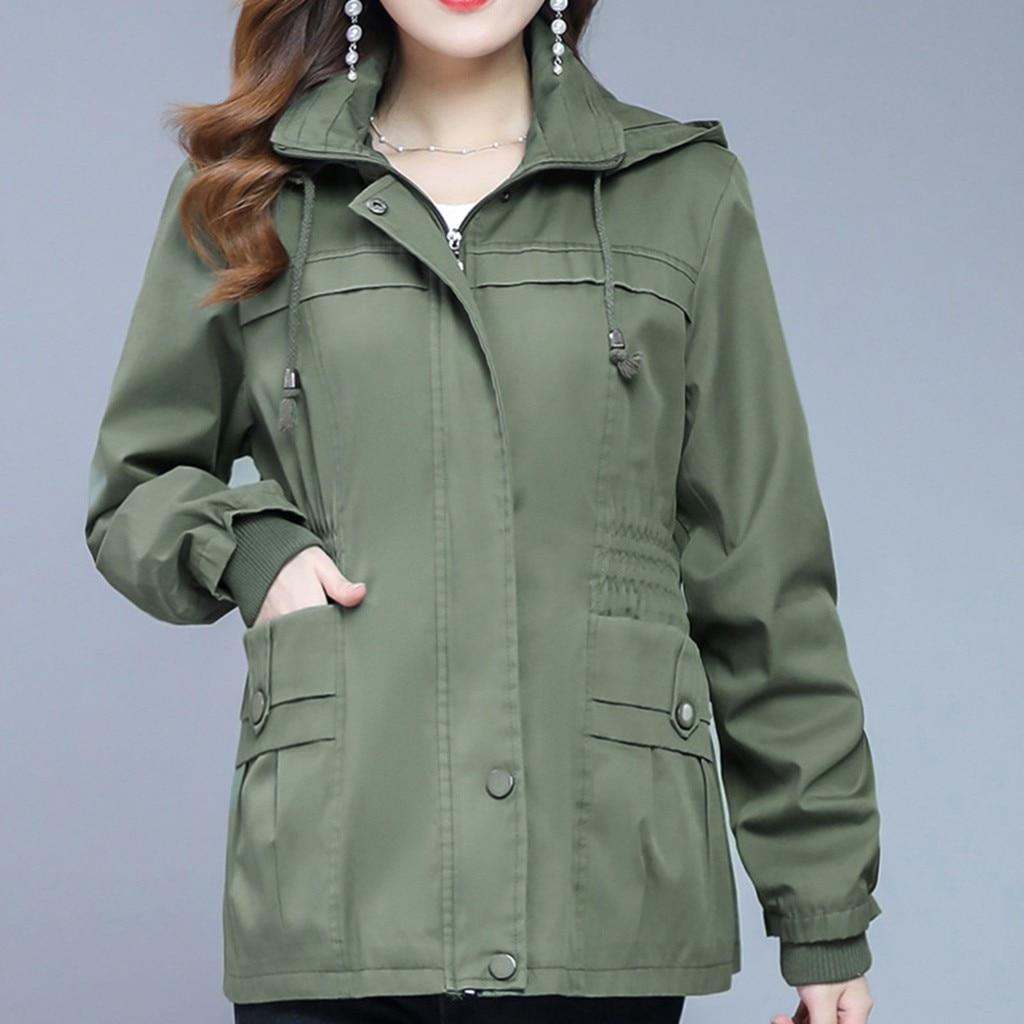 Autumn Winter Zipper Women   Basic     Jackets   Casual Female Outerwear Coats Warm Ladies   Jackets   Cardigan Long Sleeve   Jacket  #G30