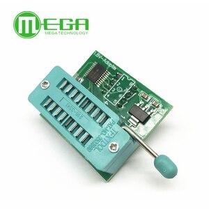 Image 1 - 1.8V adapter do płyty głównej 1.8V SPI Flash SOP8 DIP8 W25 MX25 używać na programistów TL866CS TL866A EZP2010 EZP2013 CH341 dla majsterkowiczów