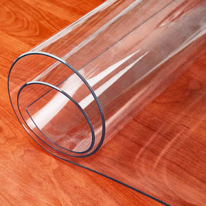 Table-Cloth Rectangular Soft Glass Pvc Transparent Silicone Waterproof And