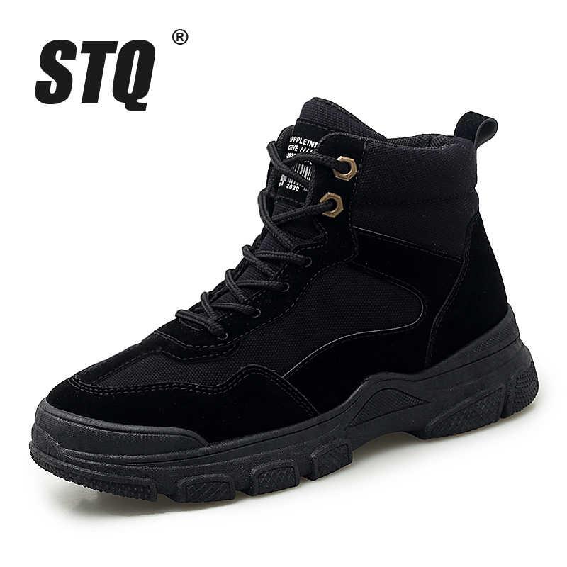 STQ 2020 kadın kış kar botları ayakkabı bayanlar sıcak tutmak yarım çizmeler ayakkabı ayakkabı kadın kış yarım çizmeler ayakkabı K8901