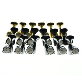 18:1 Gear Ratio 3L3R Guitar Locking Tuners Locking Machine Heads Locking Tuning Keys Pegs for LP SG or Acoustic Guitars фото