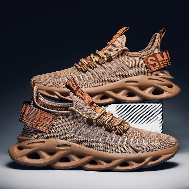 Fashion Blade Men Sneakers Mesh Casual Men Running Shoes Light  Sport Tennis Shoes Big Size Jogging Sneakers Luxury Designer
