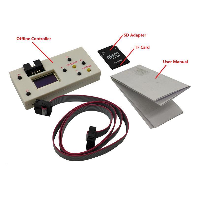 Offline Controller Board GRBL 3 Achsen CNC Controller Bildschirm Bord für PRO 1610/2418/3018 Stecher Maschine