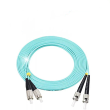все цены на FC/UPC-ST/UPC Multi-Mode OM3 Fiber Cable Multimode Duplex Fiber Optical Jumper Patch Cord онлайн