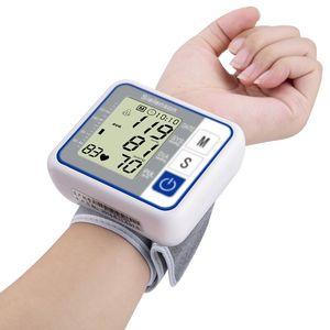 Image 3 - Russian Voice Tonometer Wrist Blood Pressure Monitor Automatic Wrist Digital Meter for Measuring And Pulse Rate Sphygmomanometer