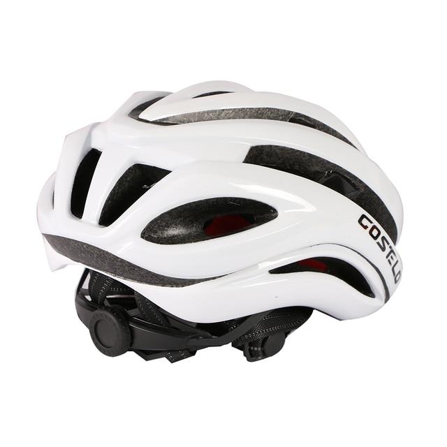 Traelo capacete aerodinâmico masculino para ciclismo, capacete esportivo, ar e vento, bike de estrada, 2020 5