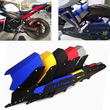 Motorcycle CNC Rear Fender Set Refit Plate Mudguard & Chain Guard Cover Kit For Yamaha YZF R3 MT-03 MT-25 2015-19 R25 2013-2019
