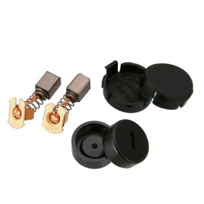 1pair Carbon Brushes +Cap +Cover For Makita BGA450 BGA452 DGA452 GA400 BGA402
