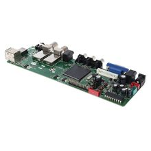 DVB S2 DVB S2 DVB T2 DVB C Digitale Del Segnale ATV Acero Driver LCD Scheda di Controllo Remoto Launcher Universale Dual USB Media QT526C T.