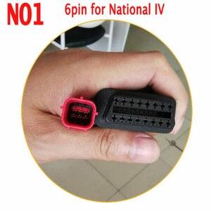 Image 1 - מקצועי EFI לאומי IV אופנוע מנוע איתור תקלות מתאם OBD2 16Pin כדי 3PIN/4PIN/6PIN ממיר תקע עבור קוואסאקי/ימאהה