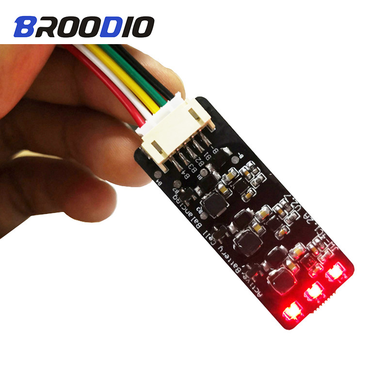1.2A Balance <font><b>Lifepo4</b></font> LTO Lithium Battery Active Equalizer Balancer Energy Transfer Board 3S 4S 6S 7S 10S <font><b>12S</b></font> 13S 14S 16S 17S <font><b>BMS</b></font> image