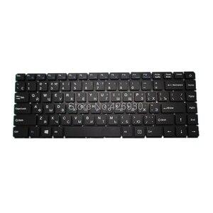 Image 2 - Clavier pour ordinateur portable RU US pour t bao pour TBook R8 R8S 15.6 russie anglais noir sans cadre nouveau